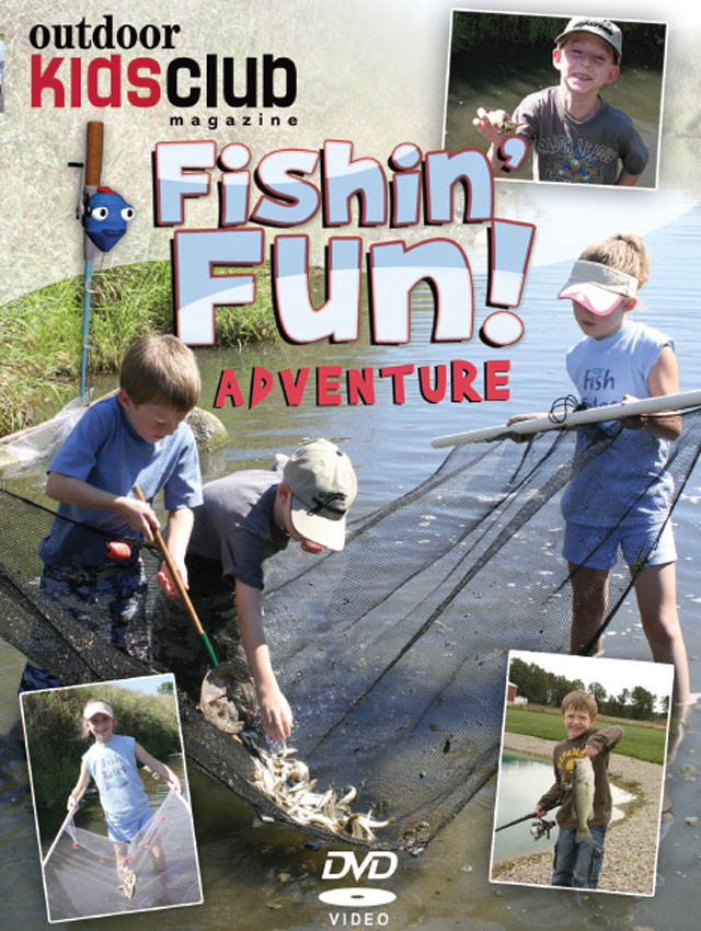 Outdoor Kids Club: Fishin' Fun DVD - cover