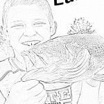 coloring page: Luke - bass