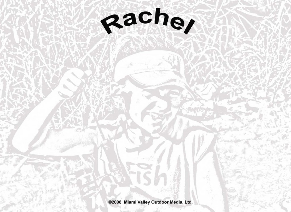 coloring page: Rachel - fish
