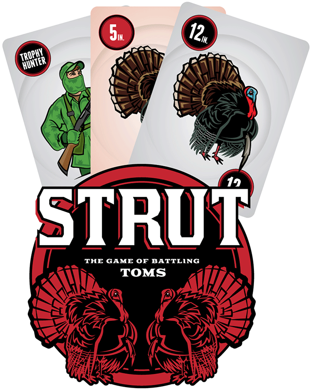 Strut Card Game: A Game of Battling Toms