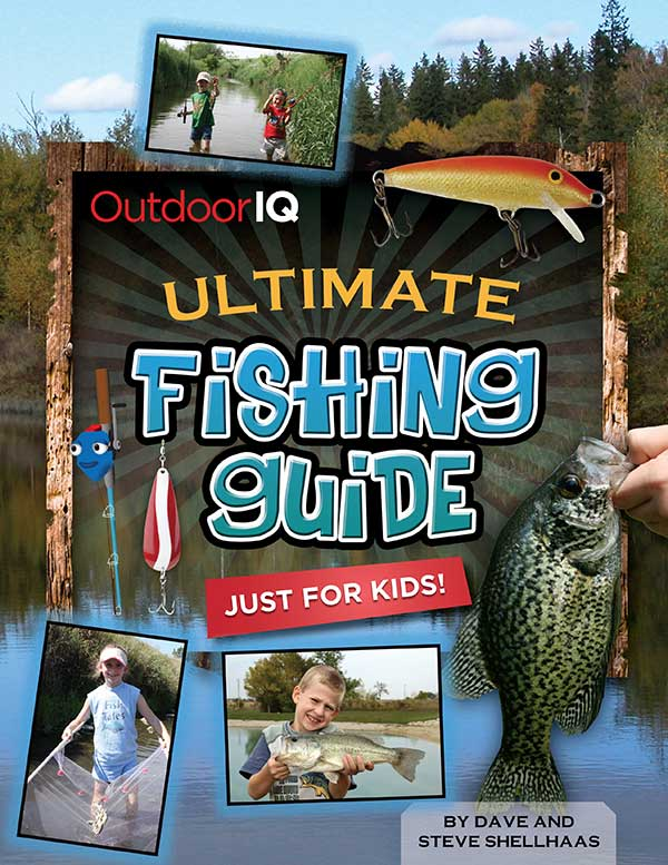 Outdoor IQ book: Ultimate Fishing Guide Ultimate Fishing Guide Just For Kids - front cover