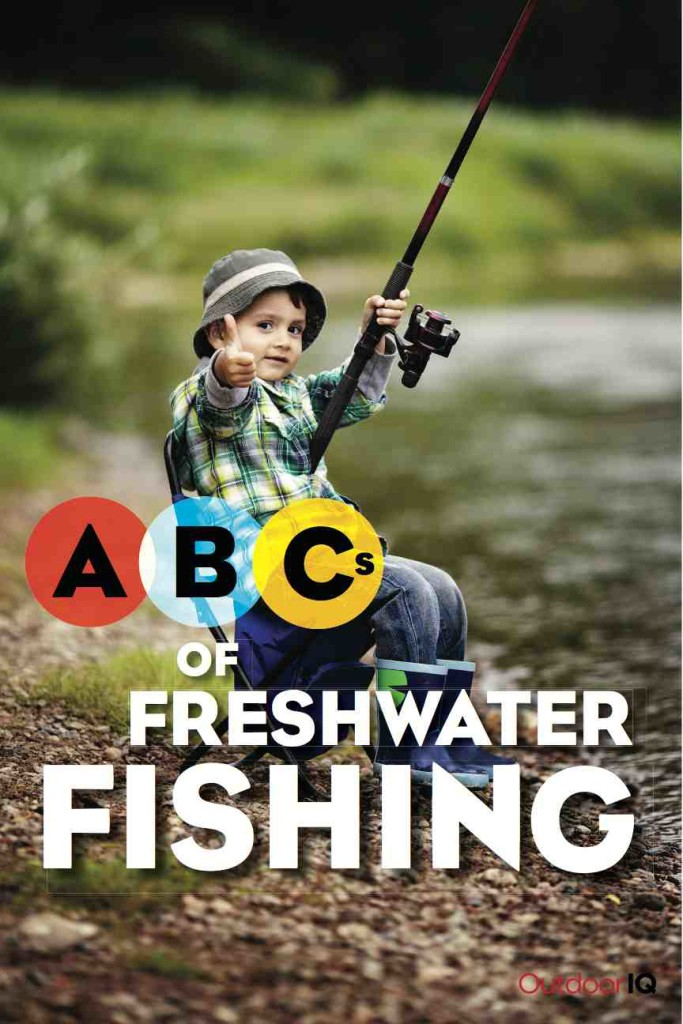 OutdoorIQ's ABC Books of Angling Legacy: ABCs of Freshwater Fishing by Dave and Steve Shellhaas - front cover